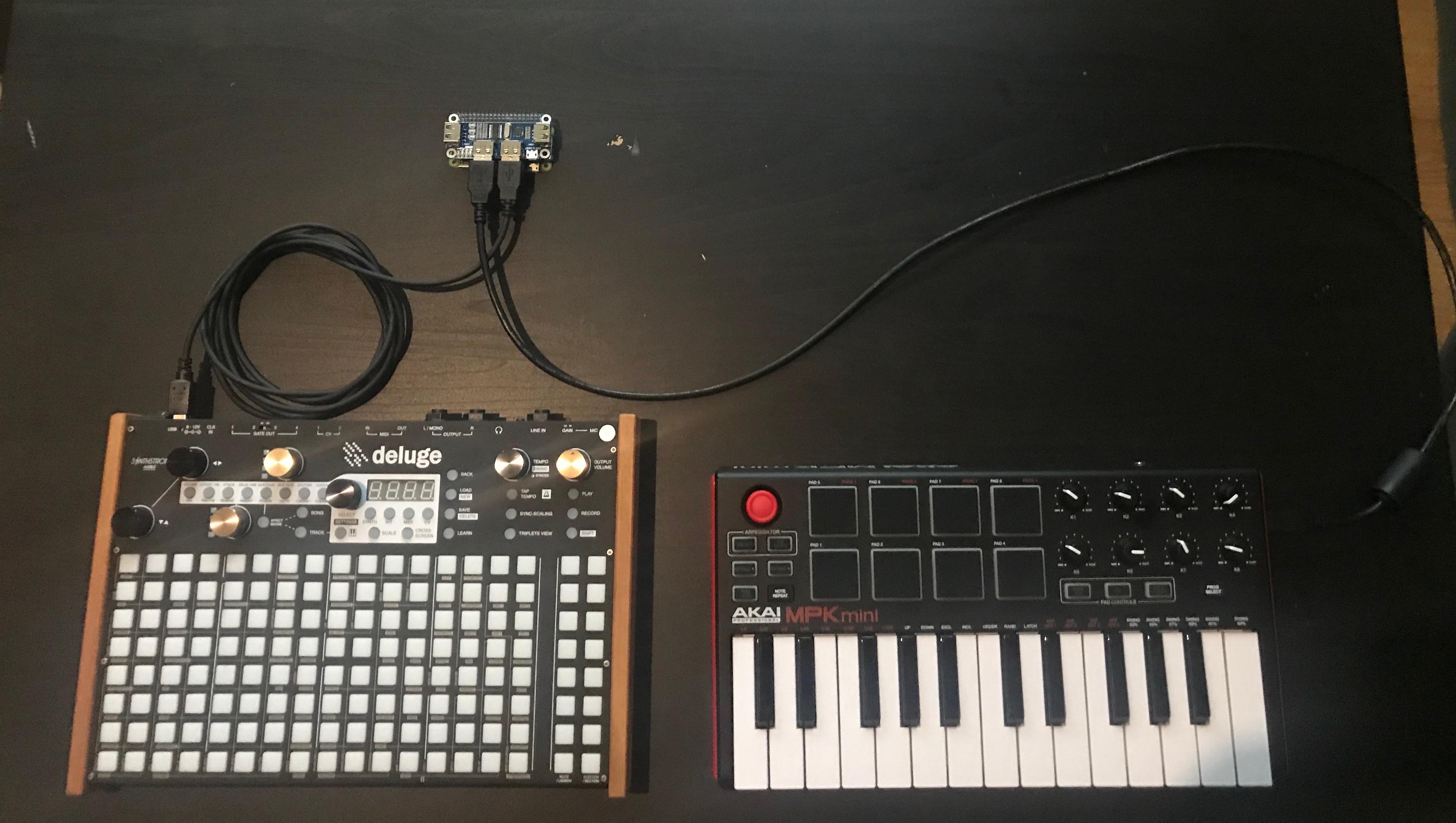 USB HOST midi interface with Raspberry Zero — Synthstrom Audible